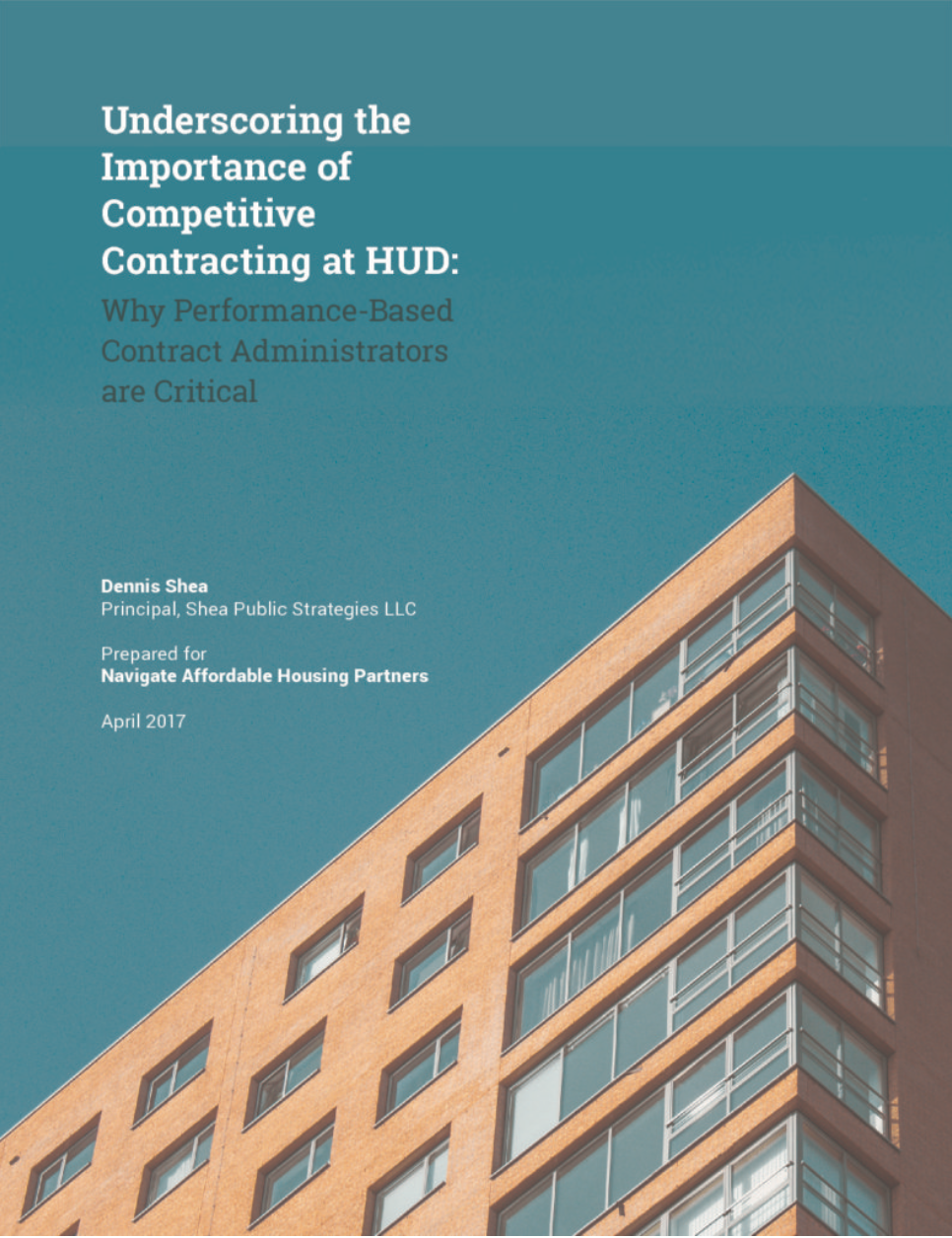 Report Competitive Contracting At Hud Critical To