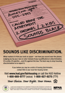 """b83ae9147 At the bottom of the slip it says """"sounds black."""" HUD reminds us all that  no matter what a person sounds like over the phone, all that really matters  is how ..."""