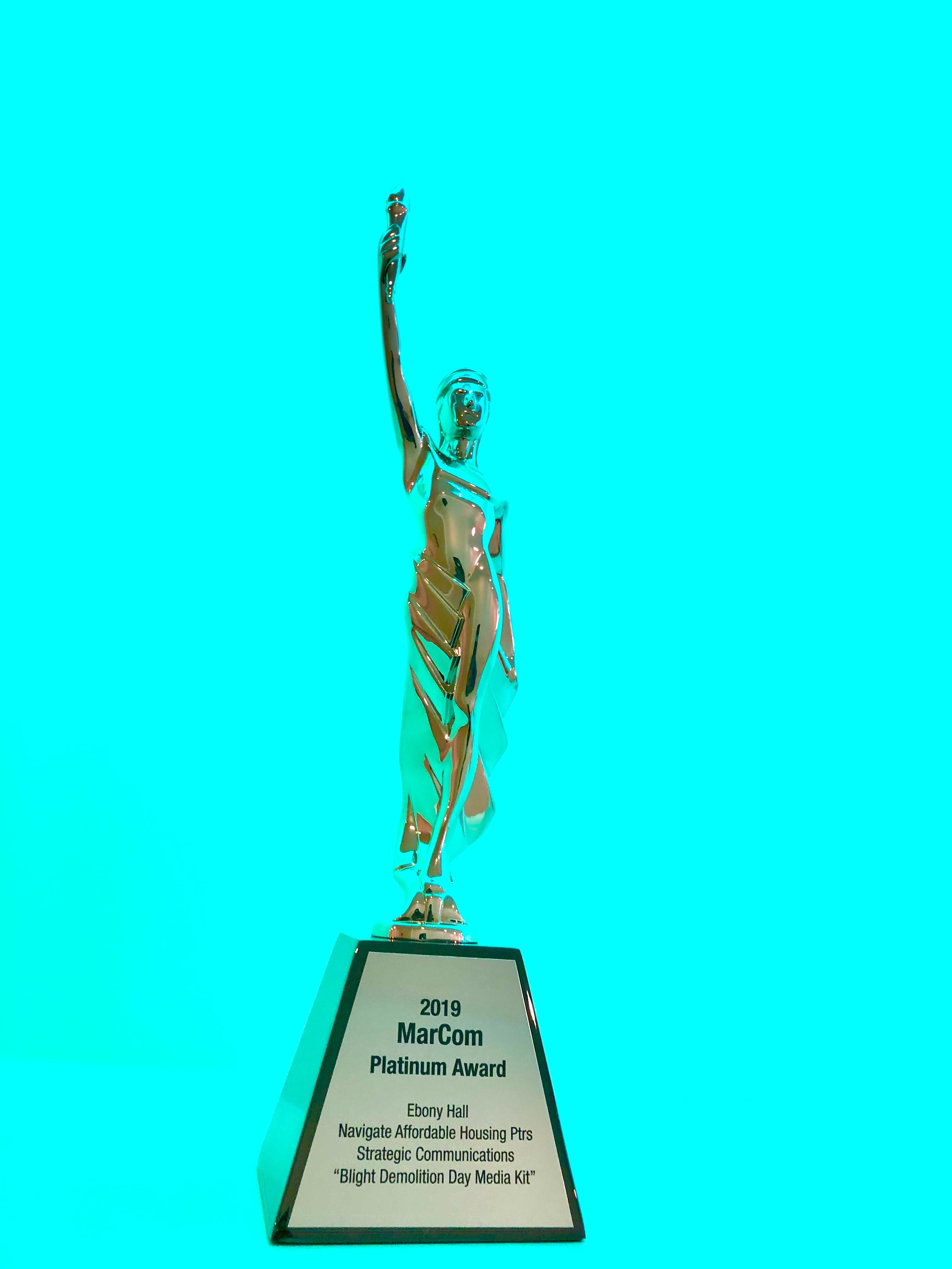 ebony hall, award