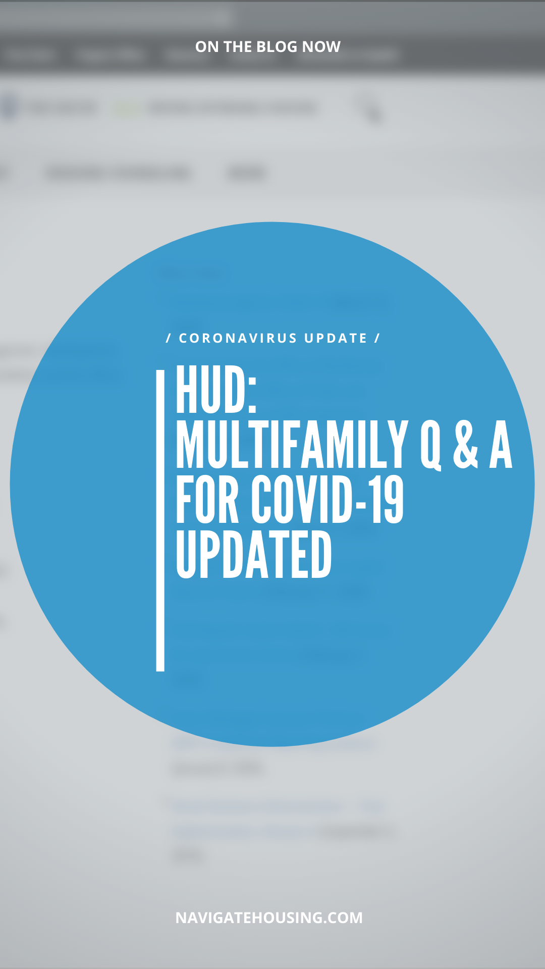 Multifamily Q & A for COVID-19