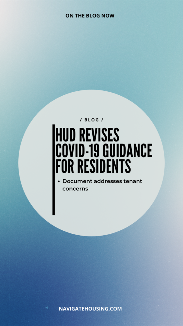 COVID-19 Guidance for Residents