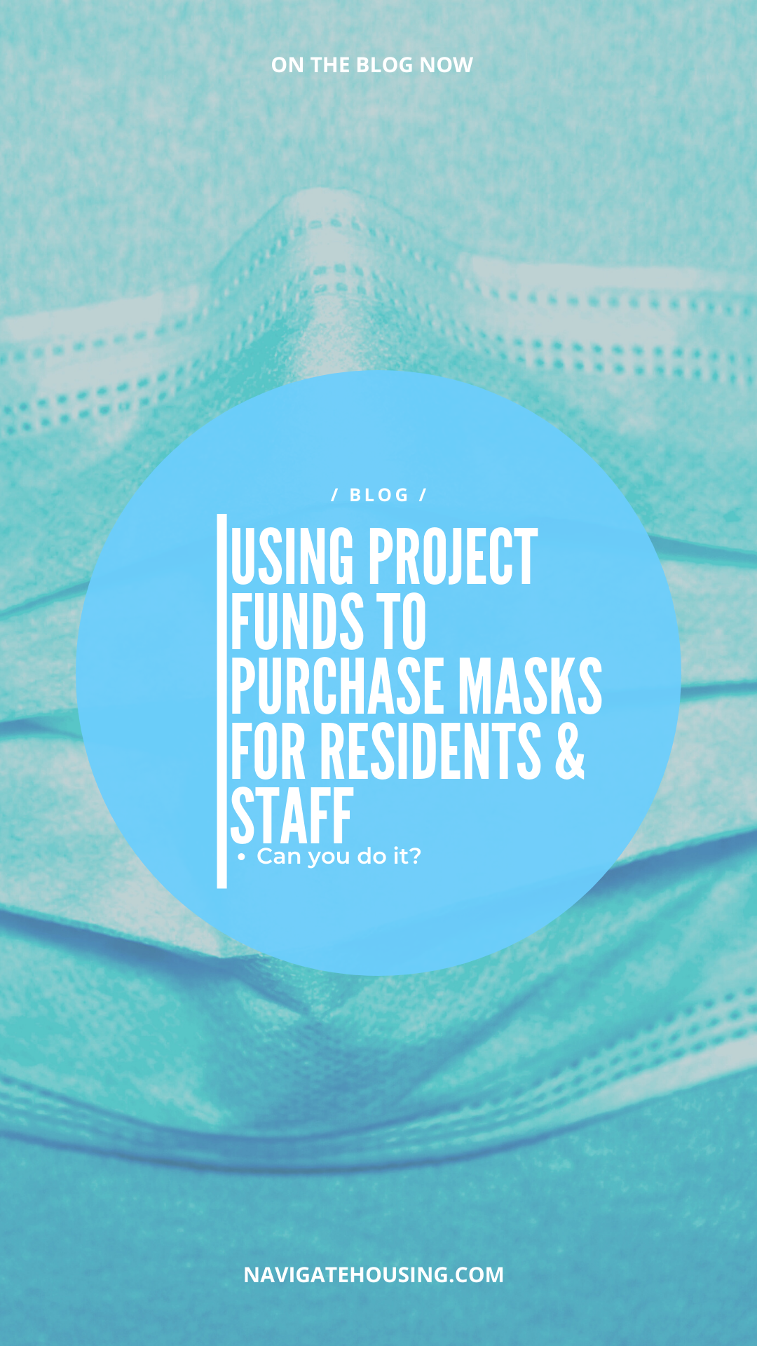 purchasing masks for residents