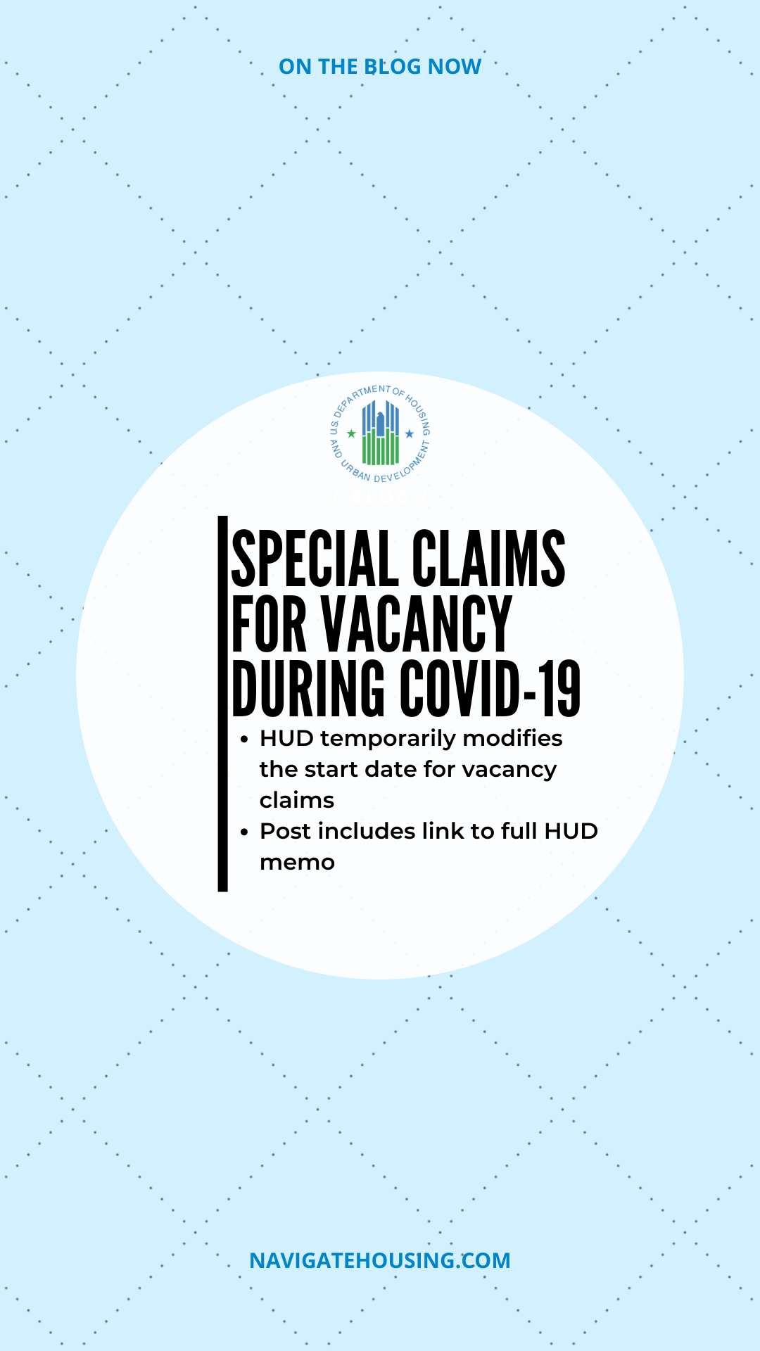 special claims for vacancy