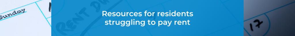 rental assistance, rent payment assistance