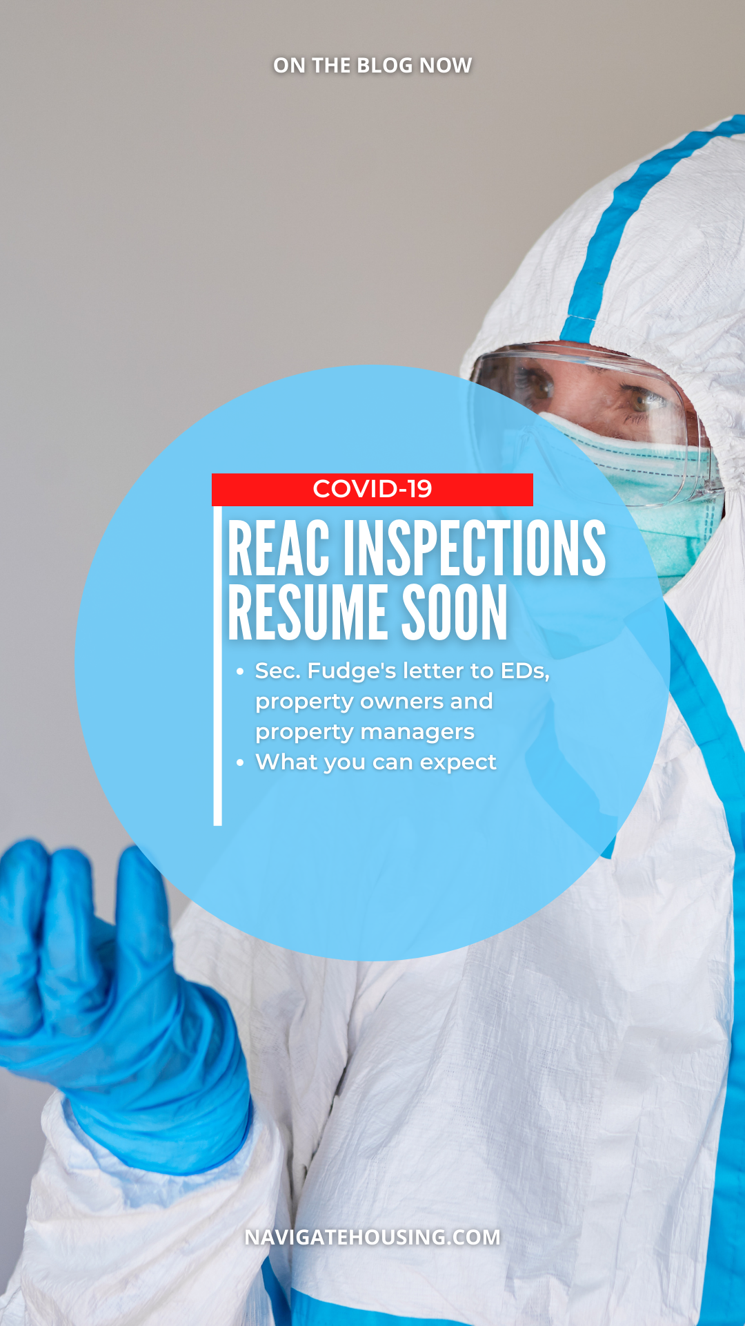 REAC inspections during the pandemic