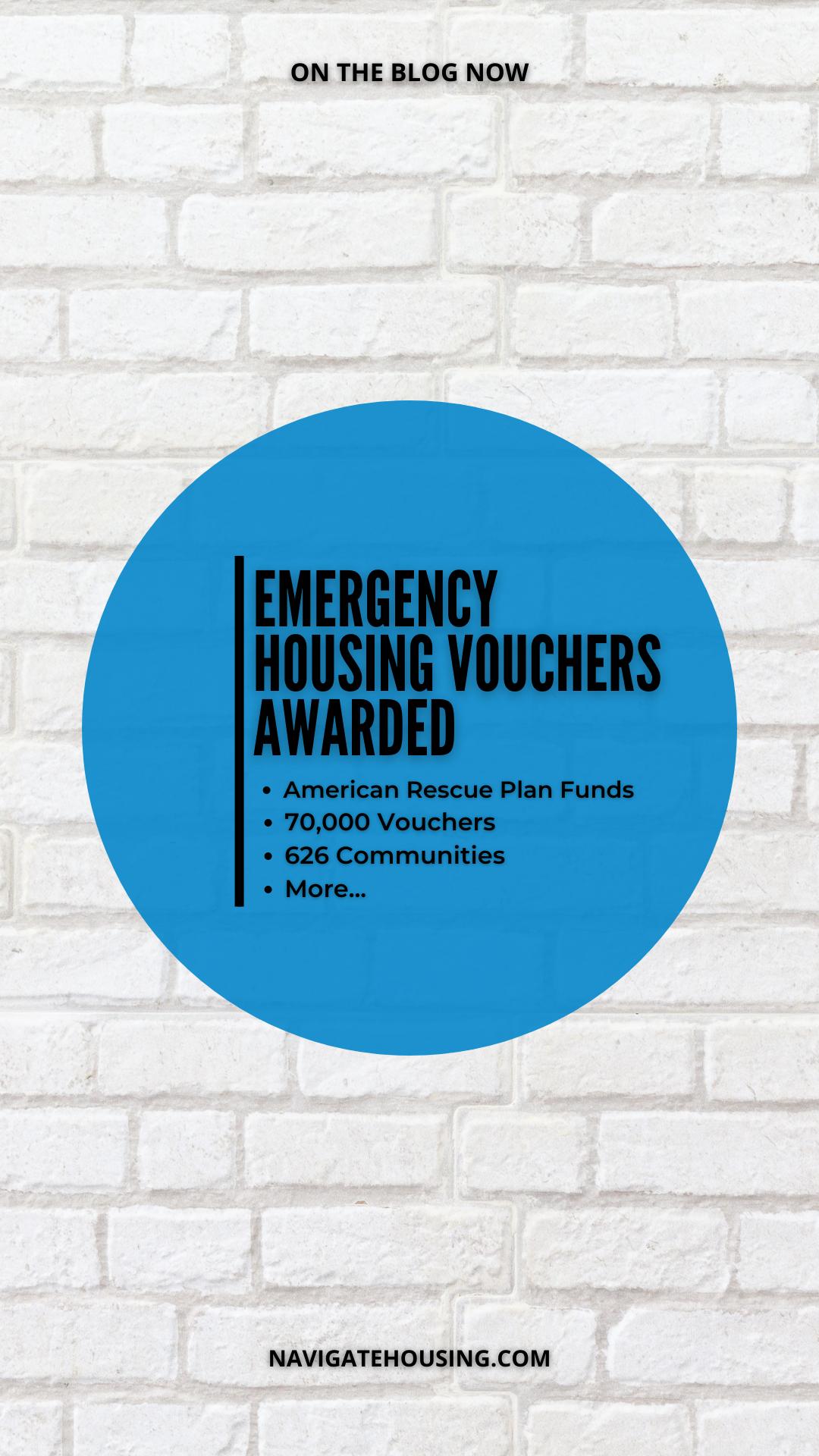 Emergency Housing Vouchers Awarded