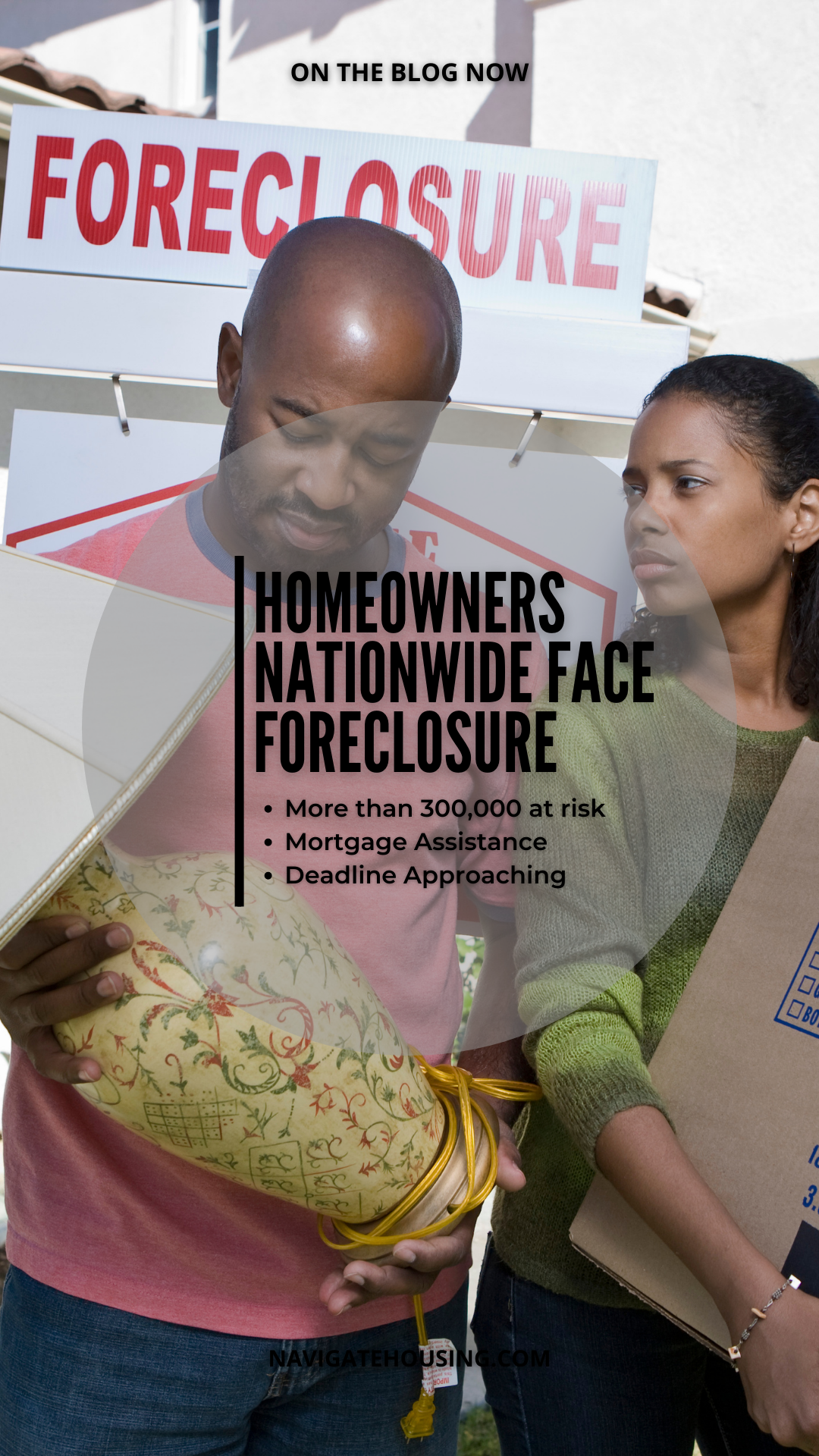 Homeowners Nationwide Face Foreclosure