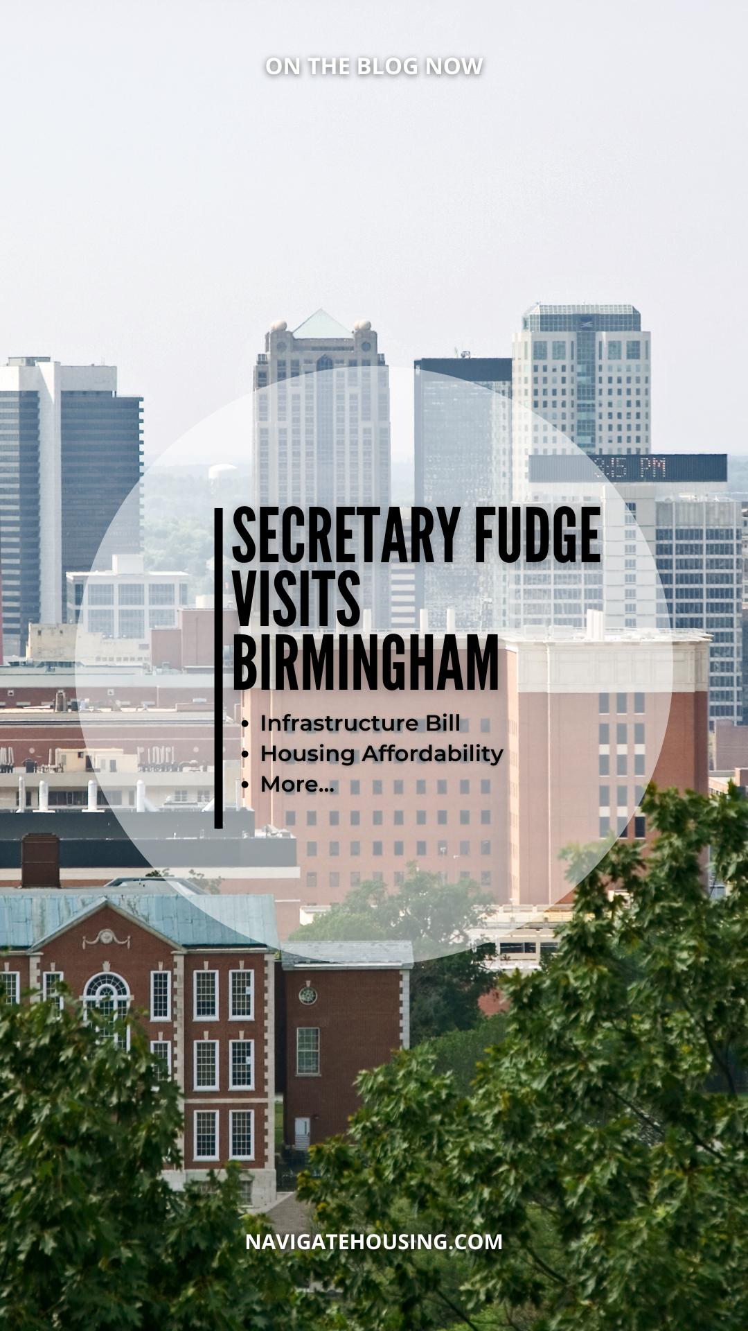 Secretary Fudge Visits Birmingham