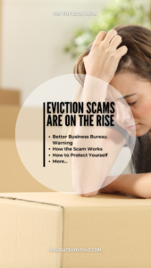 eviction scams