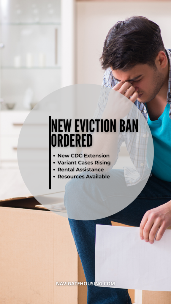New Eviction Ban Ordered