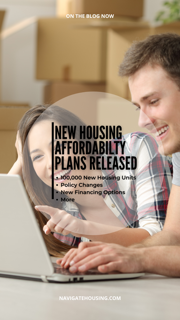 New Housing Affordability Plans Released