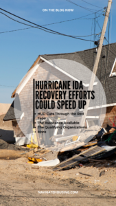 Hurricane Ida Recovery Efforts Could Speed Up