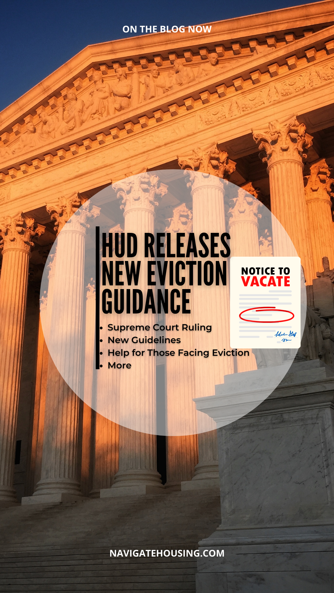 HUD Releases New Eviction Guidance