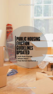 Public Housing Eviction Guidelines Updated